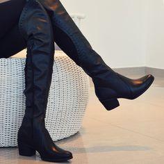 OTN: nossa paixão invernal  #overtheknee #boots #tanara