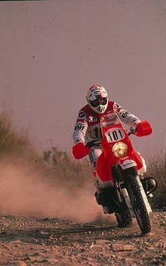 Gaston Rahier - Paris Dakar 1987