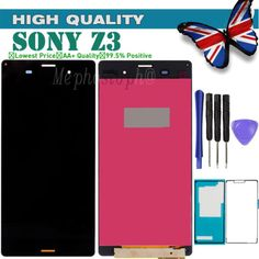 For sony xperia z3 #d6603 5.0 inch #touch #screen digitizer&lcd display black,  View more on the LINK: 	http://www.zeppy.io/product/gb/2/251946483748/