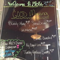 From the morning yesterday! Come check out our 's and delicious morning specials!