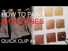 Andrew Tischler demystifies colour mixing and goes through his process on how to mix simple skin tones with just a few colours. How to Paint Portraits DVDs h...