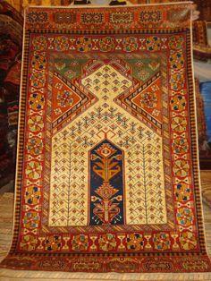 Caucasian/Marasali Pray Rug by Caucasiancarpet on Etsy, $485.00