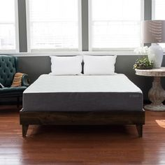 North American Pine Platform Mid-century Style Bed | Overstock.com Shopping - The Best Deals on Beds