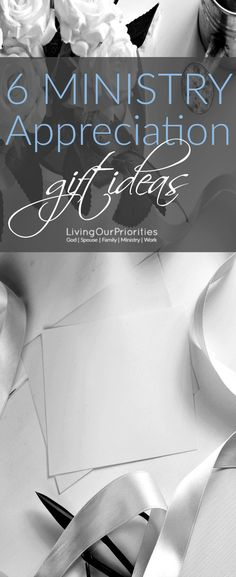 The Bible tells us to encourage one another. Here are 6 ministry appreciation gift ideas for when you want to honor those in ministry. #ministryappreciation #ReturnTheBlessing