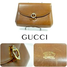 FLIP'S Pick of the Day: Pair this vintage Gucci clutch with any casual outfit for a clean, professional look. Try it today at FLIP! Featured items: vintage Gucci clutch $148.98 - #nashville #hip2flip #consignment #gucci