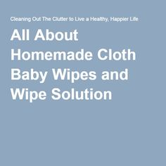 Cloth baby wipes are an easy way to make a healthy, eco-friendly, and budget friendly choice for your family. Learn how to make cloth wipes, use and care for Cloth Baby Wipes, Happy Life, Parenting, Cleaning, Homemade, Healthy, Clothes, Green Products, Twin