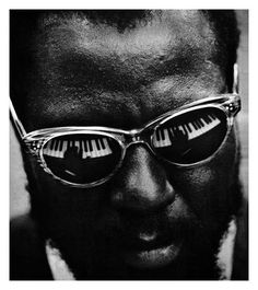 Thelonious Monk - one of only five jazz artists to grace the cover of @time Magazine. This 1962 shot captures him at the piano at @lincoln Center