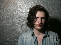 Hozier photographed by Daniel Leal-Olivas before his show at London's Garage on 24 May 2015.