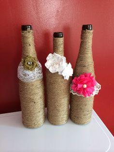 Wine bottle crafts!