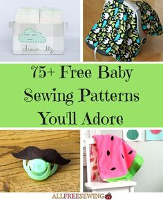 If you love creating homemade baby gifts, here are 75+ Free Baby Sewing Patterns You'll Adore. From diaper bags and onesies to baby blankets galore, there's so much to choose from in this collection of cute baby gift ideas!