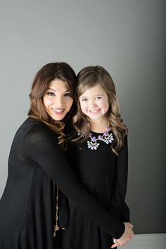 1e8ed29666 Mommy and Me Flowy Dress with Sleeve and Side Pockets Black - Ryleigh Rue  Clothing by Modern Vintage Boutique