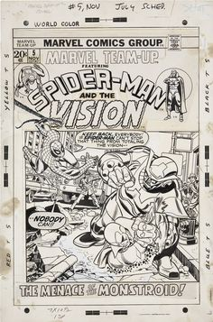 Gil Kane and Frank Giacoia Marvel Team-Up #5 Spider-Man and the | Lot #92111 | Heritage Auctions