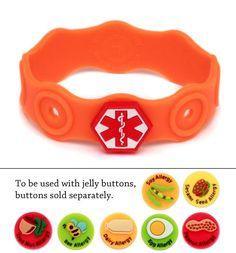 food allergy bracelet
