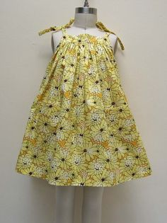 easy 4 to 5 year old dress pattern | ... to 8 years. All the Daisy Sun Dress listings are the same pattern