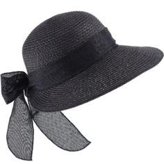 Chapeau semi-capeline NOIR