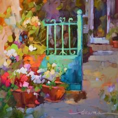 A Beautiful Day Awaits, painting by artist Dreama Tolle Perry