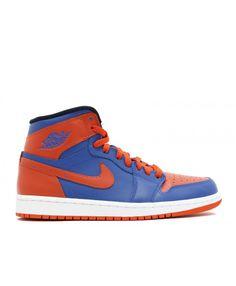 6ec68112d48 Air Jordan 1 Retro High Og Knicks Game Royal Team Orange Gm Ryl 555088 407  Retro