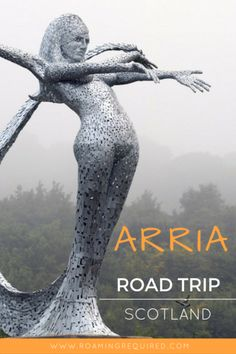 Are you planning a road trip through Scotland this year? Located not too far from Stirling is metal-mermaid Arria. Make sure you stop by and say hello! Backpacking Europe, Europe Travel Tips, Travel Guides, Travel Destinations, Traveling Europe, Scotland Destinations, Scotland Vacation, Scotland Travel, Ireland Travel