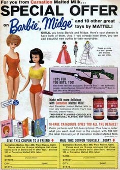 Barbie's full name is Barbara Millicent Roberts