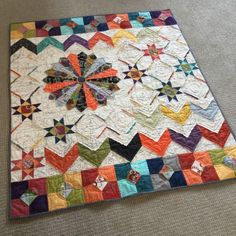 Lovely quilt called Shortcuts by Pati Fried
