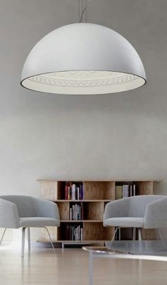 Minimalisimo Space ! Great Lighting Fixture