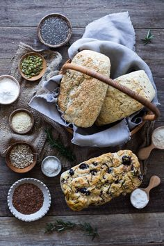 Perfect Gluten Free Bread 3 Ways