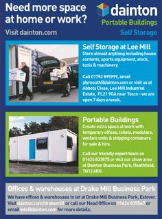 Dainton ad for self storage and portable buildings http://www.dainton.com