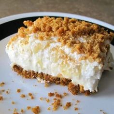 This is another one of my grandma's recipes, and one of my favorites. Oh, fine, they are all my favorites. It's a given. This is a light, airy, just