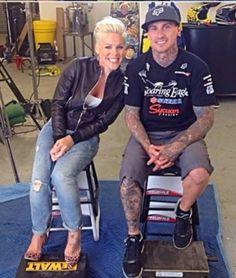 P!nk and Carey Hart