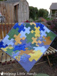 Patchwork en Casa - Anna&Patchwork: Propuesta: Quilt Puzzle