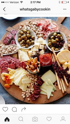 The Ultimate Appetizer Board from www. (What's Gaby Cooking) The Ultimate Appetizer Board from www. (What's Gaby Cooking) Snacks Für Party, Appetizers For Party, Appetizer Recipes, Meat Appetizers, Appetizer Ideas, Birthday Appetizers, Party Recipes, Easter Appetizers, Appetizer Plates