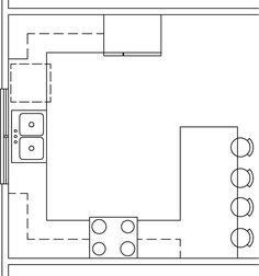 Kitchen Amusing House Decor Ideas G Shaped Kitchen Layout ...