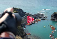 Cliff Diving in Wales | Stop-motion film created with three of the biggest Instagramers in the UK | Red Bull