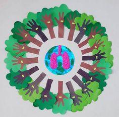 Orman haftası School Projects, Projects For Kids, Art Projects, Crafts For Kids, Arts And Crafts, Paper Crafts, Earth Day Activities, Indoor Activities For Kids, Preschool Art