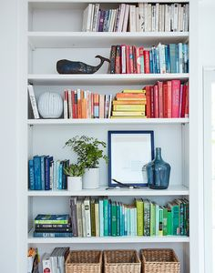 Creating more joy at home doesn't have to mean spending money or buying stuff. A lot of times we have things sitting around that can be reused or repurposed in joyful ways. In this post, I want to sha Decor, Ikea Ribba Frames, Shelves, Home, Bookshelves, Disc Interiors, Colourful Tile, House Joy, Colorful Frames