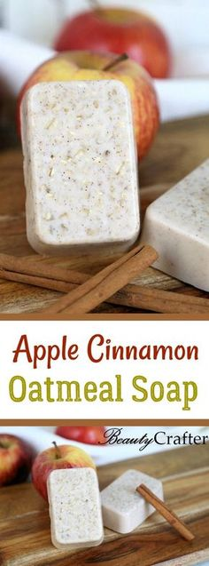 Apple Cinnamon Oatmeal Soap Recipe