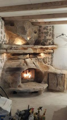 40 wunderbare DIY Kamin Designs Source by The post 40 wunderbare DIY Kamin Designs appeared first on My Art My Home. Rustic Fireplaces, Home Fireplace, Brick Fireplace, Fireplace Design, Earth Homes, Natural Building, Earthship, Stone Work, Log Homes