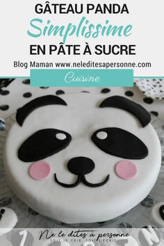Prepare a birthday panda cake in simple and effective sugar paste, which allows to show off on. Gentilly Cake Recipe, Panda Birthday Cake, Cat Birthday, Panda Cakes, Star Cakes, Cake Blog, Sugar Paste, Themed Cakes, Birthday Decorations