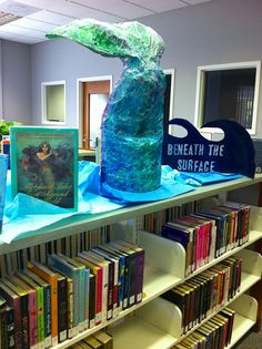 Mermaid Tail - BENEATH THE SURFACE - Teen Summer Reading Program 2013 Paintings That Fly