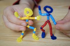 Ludziki z koralików | Dzień Dziecka | prace plastyczne, edukacyjne Diy Projects To Try, Hama Beads, Little Ones, Triangle, Crafts For Kids, Montessori, Beading, Crafting, Google