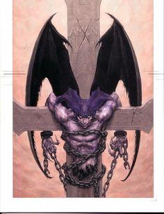 Devilman Amon illustration