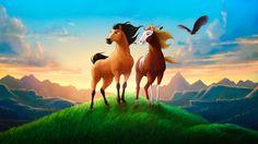 Spirit The Stallion Of Cimarron Iron Horse Camp & Escape Spirit The Horse, Spirit And Rain, Spirit Der Wilde Mustang, Caballo Spirit, New Kids Movies, Wilde Mustangs, Horse Movies, Horse Camp, Childhood Movies