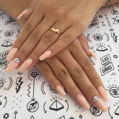 "Ella quería algo ""Naif"" #Squareletto Nails using ""Bubble Bath"" by @opi_products ❤️❤️❤️ & #Swarovski details... Para @martinezpipi bombaaaa #Nails #nailart #nailmag #nailtech #notd #npa #opi #Polishlovers #AcrylicNails #esculpidas #acrilicas #jewelry #details #love #naif #longnails #nudenails #ESTOESLASUNIAS #LASUÑASnailstudio"