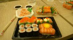 Sushi, Singapore. Singapore, Sushi, Ethnic Recipes, Food, Essen, Meals, Yemek, Eten, Sushi Rolls