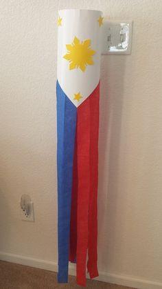 Philippine flag lantern