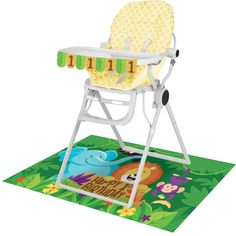 Check out the deal on Jungle Safari High Chair Decorating Kit at Party at Lewis. #junglepartyideas #jungleparties #junglepartythemes #junglebirthdays #junglesafariparty #junglethemepartyideas #junglethemebirthdayparty #junglethemeparties #safarijungleparty #junglebirthdaypartyideas #junglebirthdayparties #junglepartydecorations #junglebirthdaytheme #safariparty #junglesafaribirthdayparty #junglekidsparty #partyjungletheme #junglethemebirthday #babyshower  #1stbirthday #props #themepartyideas