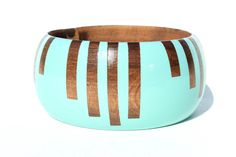 Wide Stripes Bangle (More Colors)