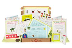 Raddish is on a mission to bring families together. Offered as a monthly subscription or solo gift box & developed by the creators of Kitchen Kid. For kids of all ages, (ages 7-12) with culinary curiosity & ready for an exciting role in the family meals and educators looking for a lesson that combines math, science, nutrition, geography, & culture through team & solo projects.  A sibling add-on option also offered.   - See more at…
