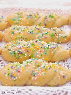 Sprinkle Twist Cookies with Tutorial