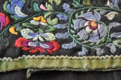 Art Costume, Folk Costume, Costumes, Wool Embroidery, Norway, Folk Art, Blanket, Crochet, Vintage